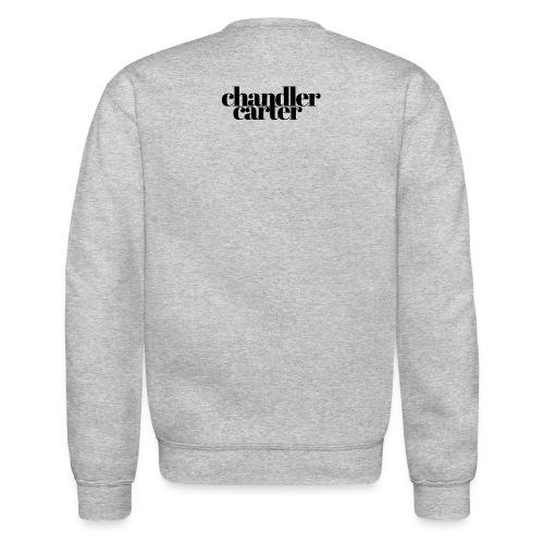 Chandler Carter Logo - Black - Unisex Crewneck Sweatshirt