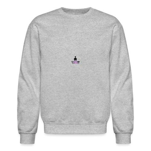 Spartan Clothing australia (purple) - Unisex Crewneck Sweatshirt