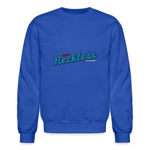 teamreckless logo blue2 png - Unisex Crewneck Sweatshirt