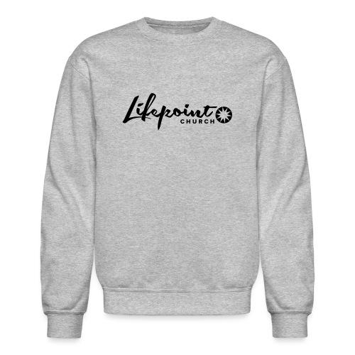 Logo Horizontal Black - Unisex Crewneck Sweatshirt