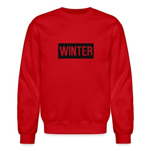 Winter x Sweatshirt - Unisex Crewneck Sweatshirt