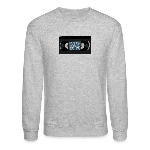 Reclaim Hosting VHS - Unisex Crewneck Sweatshirt
