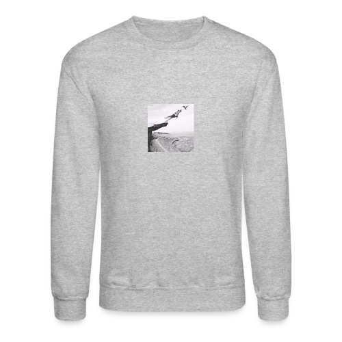 The dog and bird - Crewneck Sweatshirt