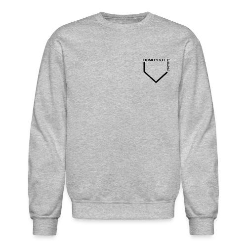 HOMEPLATE PRESS BLACK LOGO - Crewneck Sweatshirt