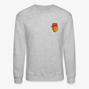 maga potato logo - Crewneck Sweatshirt