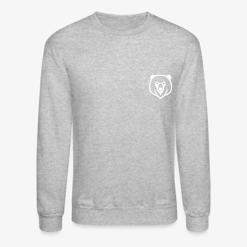 white kz logo - Crewneck Sweatshirt