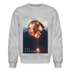 SicVintage Beauty in the Lignts - Crewneck Sweatshirt