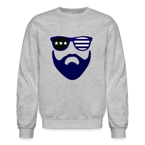 Blue beard-beard gang - Crewneck Sweatshirt