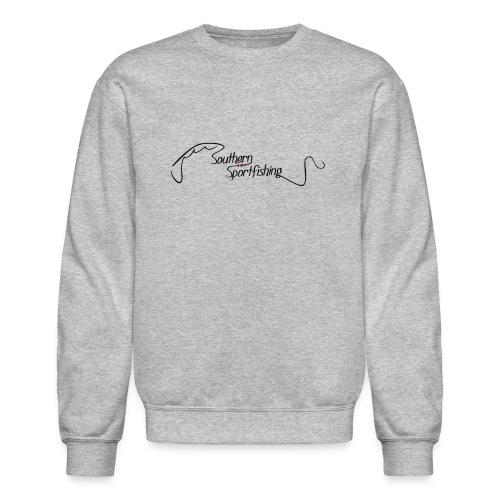 Southern Sportfishing - Black Logo - Crewneck Sweatshirt
