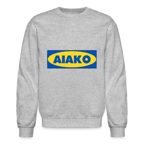 Aiako ikea logo concept - Crewneck Sweatshirt