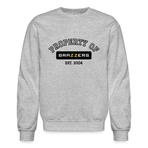 Property of Brazzers logo - Crewneck Sweatshirt
