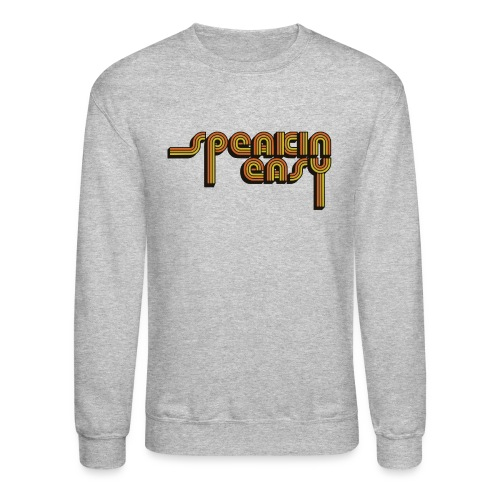 Speakin' Easy Retro Logo - Crewneck Sweatshirt