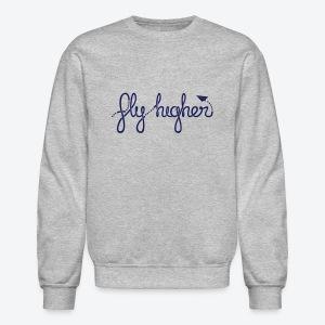 Fly Higher - Navy - Crewneck Sweatshirt