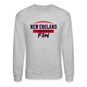 New England Football Fan - Crewneck Sweatshirt