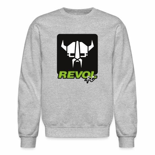 RevolRC Viking White on Black - Crewneck Sweatshirt