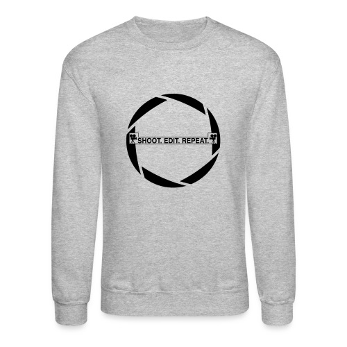 Shoot edit repeat - Crewneck Sweatshirt