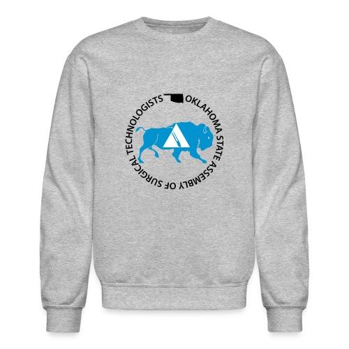 OKSAlogowhite - Crewneck Sweatshirt