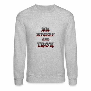 me myself and iron - Crewneck Sweatshirt