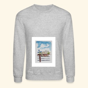 Anna in the Flower Bed - Crewneck Sweatshirt