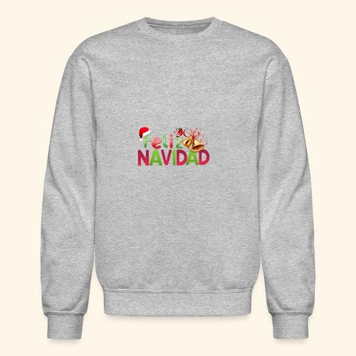 feliz navidad merch - Crewneck Sweatshirt
