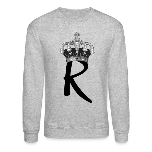 R with Crown - Crewneck Sweatshirt