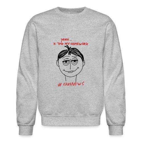 #FakeNews - Crewneck Sweatshirt