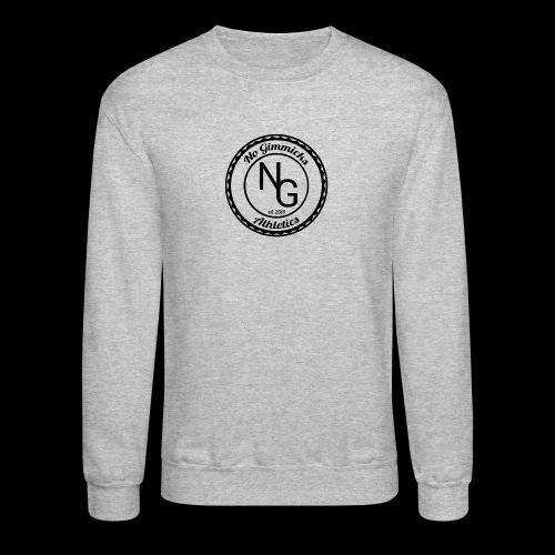 no gimmicks logo svart - Crewneck Sweatshirt