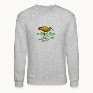 BIRDER - White-faced ibis - Carolyn Sandstrom - Crewneck Sweatshirt