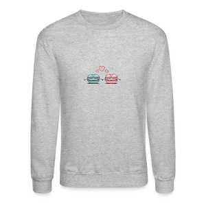 Macarons Couple - Crewneck Sweatshirt