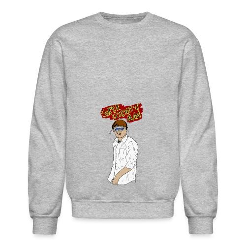 Super Scientist Man - Crewneck Sweatshirt