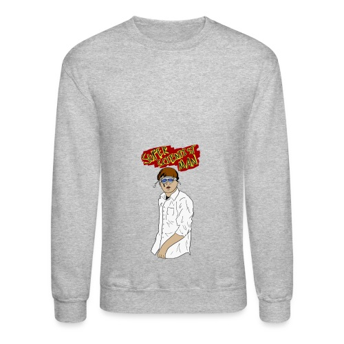 Super Scientist Man - Crewneck Sweatshirt