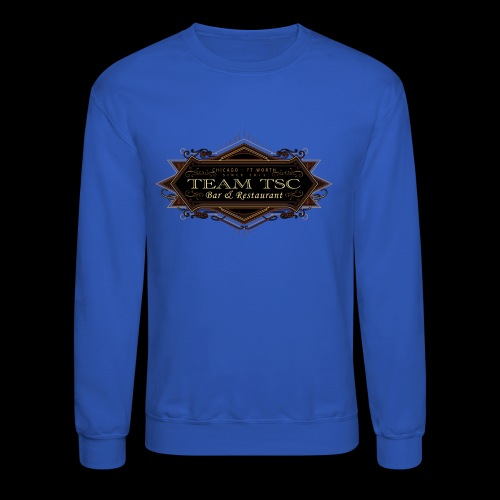 teamTSC badge03 Bar - Unisex Crewneck Sweatshirt