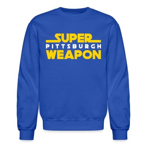 super weap - Crewneck Sweatshirt