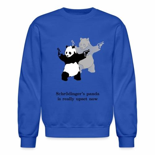 Schrödinger's panda is really upset now - Unisex Crewneck Sweatshirt