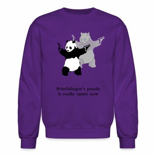 Schrödinger's panda is really upset now - Crewneck Sweatshirt