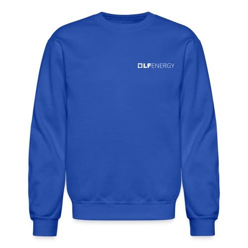LF Energy White Logo - Unisex Crewneck Sweatshirt