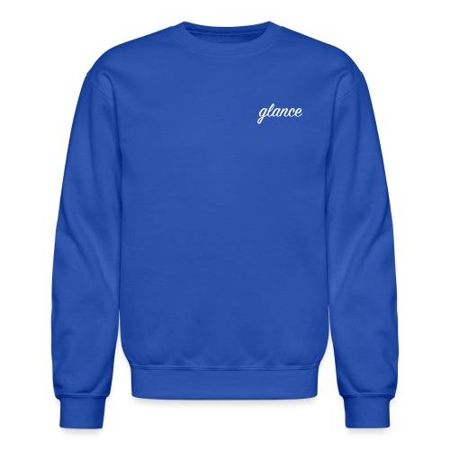 glance text png - Crewneck Sweatshirt