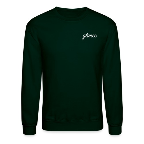 glance text png - Unisex Crewneck Sweatshirt