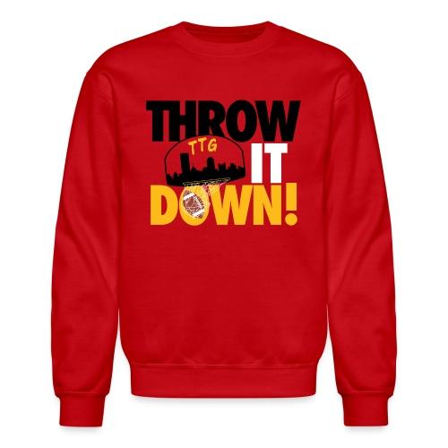 Throw it Down! (Turnover Dunk) - Crewneck Sweatshirt