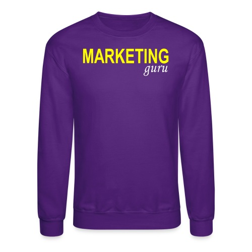 Marketing Guru - Crewneck Sweatshirt