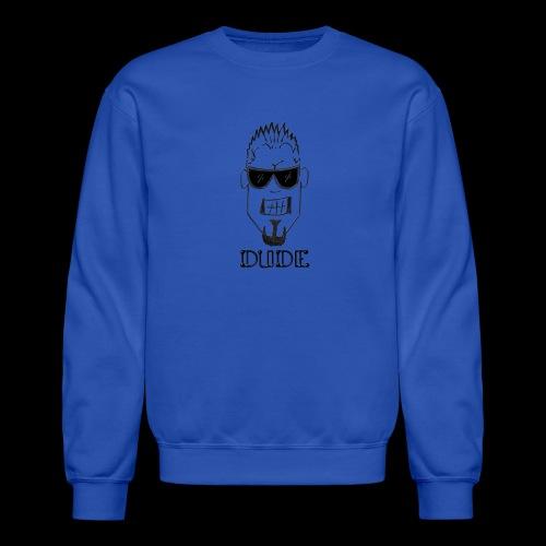 Dude Head 1 - Crewneck Sweatshirt