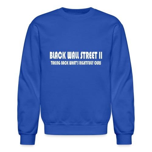 BWSII white - Unisex Crewneck Sweatshirt