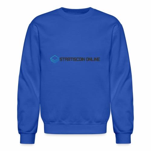 stratiscoin online dark - Crewneck Sweatshirt