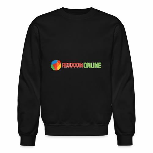 Reddcoin online logo red and green - Crewneck Sweatshirt