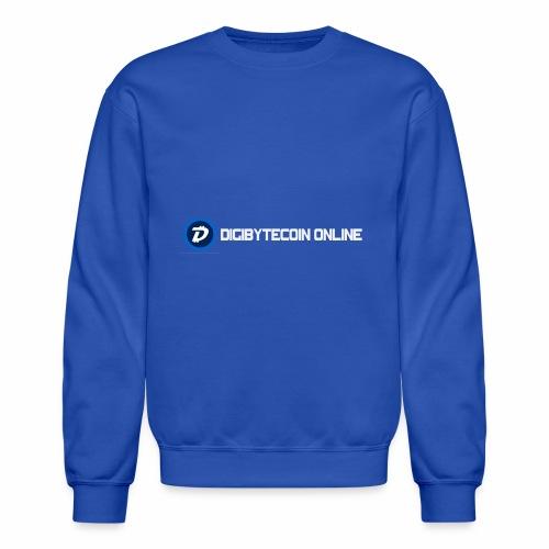 Digibyte online light - Unisex Crewneck Sweatshirt