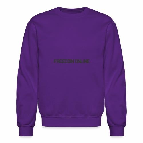 facecoin online dark - Crewneck Sweatshirt