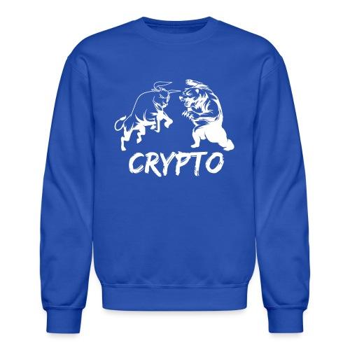 CryptoBattle White - Crewneck Sweatshirt