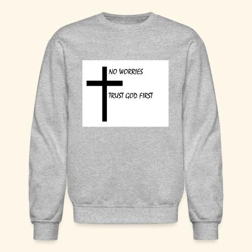 No Worries - Crewneck Sweatshirt