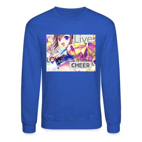 live love cheer - Crewneck Sweatshirt