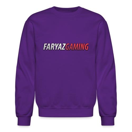FaryazGaming Text - Crewneck Sweatshirt